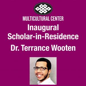 The MCC's Inaugural Scholar-in-Residence Dr. Terrance Wooten